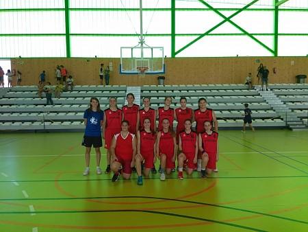 Equip junior femení del Club de Bàsquet de Pedreguer (imatge: Club de Bàsquet de Pedreguer)
