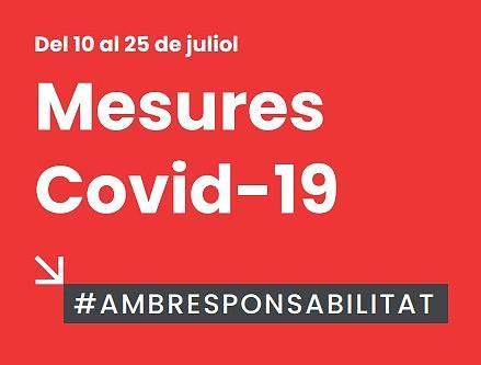 Actualización medidas Covid-19 hasta el 25 de julio