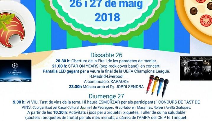 Pedreguer celebrarà la III Fira Gastronòmica Intercultural el 26-27 de maig