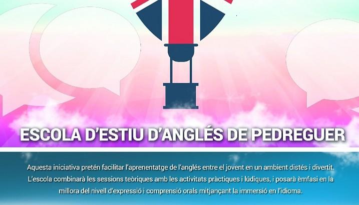 Obert el termini d'inscripció a l'Escola d'Estiu d'Anglés 2018 de l'Ajuntament de Pedreguer