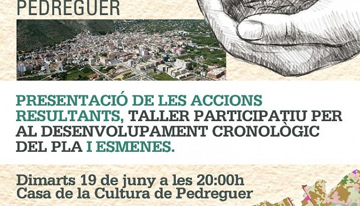 Convocada l'última sessió participativa per a l'elaboració del Pla de Desenvolupament Agrari