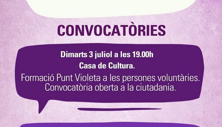 Pedreguer ultima la campanya de prevenció i eradicació de les agressions sexistes en les Festes de Juliol