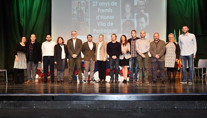Pedreguer lliura els XXVII Premis d'Honor a CEAR-PV, El Fabricante de Espheras, Daniel Garcia Andújar i Maria Ivars Moncho
