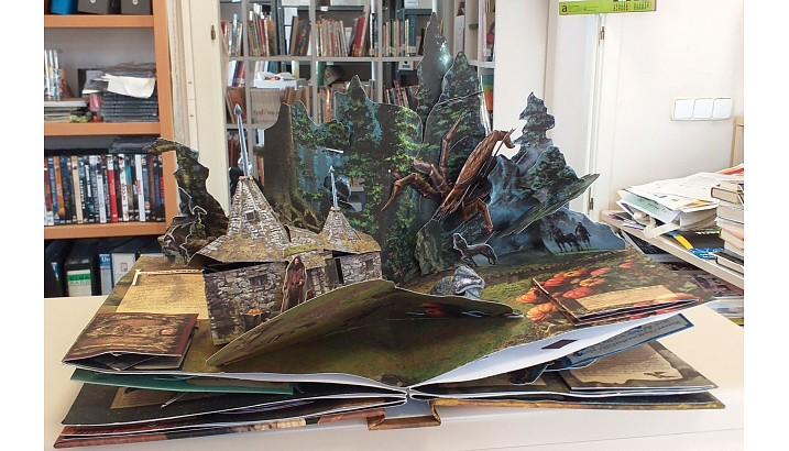Exposició sobre llibres