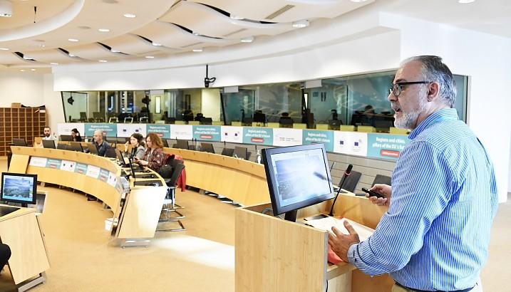 Pedreguer presenta a Europa les seues polítiques fiscals en favor de les energies renovables