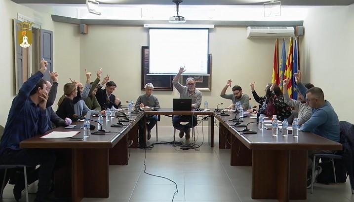 Pedreguer aprova el Pressupost Municipal per a 2020