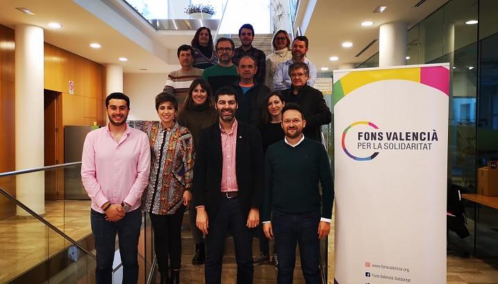 Pedreguer present al seminari de treball i convivència del Fons Valencià per la Solidaritat celebrat a l'Olleria