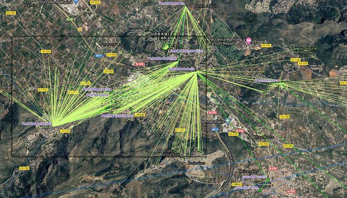 La xarxa lliure d'Internet instal·lada a Pedreguer des de 2012 ajuda a fer més suportable el confinament