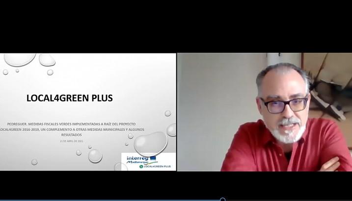 Pedreguer transfereix les seues mesures fiscals verdes a altres municipis dins el programa europeu LOCAL4GREEN PLUS