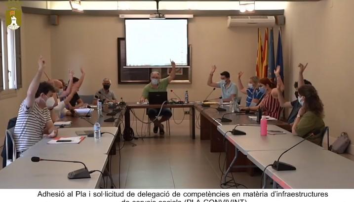 Acuerdos aprobados en el pleno ordinario del mes de junio