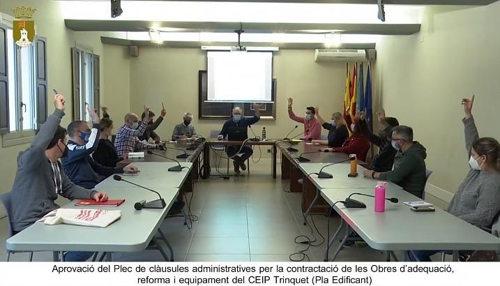 Arranca la tramitació de les obres del Pla Edificant al CEIP El Trinquet