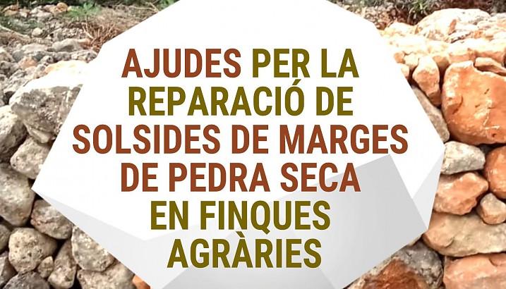 SUBVENCIONES PARA REPARACIONES DE DERRUMBES EN MÁRGENES DE PIEDRA