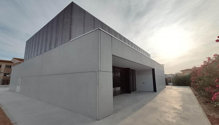Recepcionadas las obras del nuevo gimnasio del CEIP Alfaz de Pedreguer