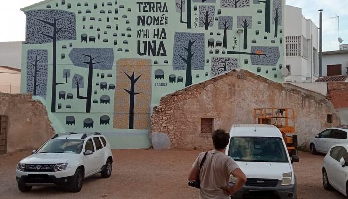 Pedreguer apuesta por el arte urbano para hacer visible la importancia del medio ambiente
