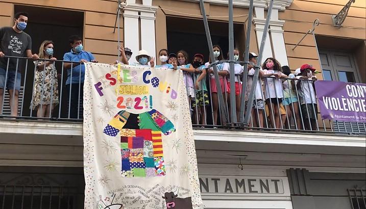 Els xiquets i les xiquetes de l'Escola d'Estiu s'impliquen en la setmana cultural Covid 19 de Pedreguer